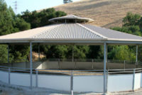 North Peak Equestrian Covered Round Pen