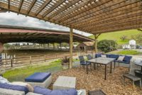 North Peak Equestrian Furnished Viewing Pergola