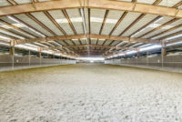 North Peak Equestrian indoor arena