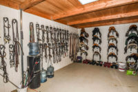 A North Peak Equestrian Tack Room